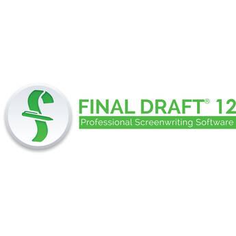 Final Draft 12 Screenwriting Software (Download)