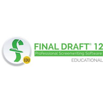 Final Draft 12 Screenwriting Software (Download, Educational)