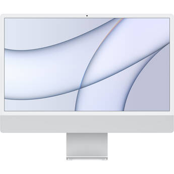 "Apple 24"" iMac with M1 Chip (Mid 2021, Silver)"