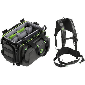 Arco AS-A10G Small Bag for Audio Field Recorder with AH-AHB Adjustable Harness Kit
