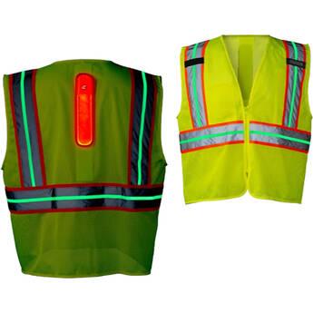 COAST SV400 Rechargeable / Reflective Hi Vis Safety Vest (Large)