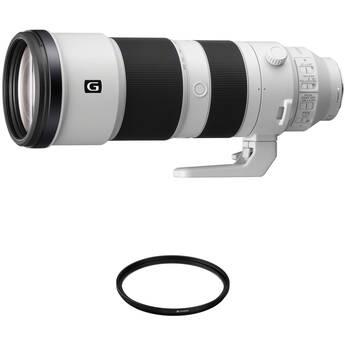 Sony FE 200-600mm f/5.6-6.3 G OSS Lens with UV Filter Kit