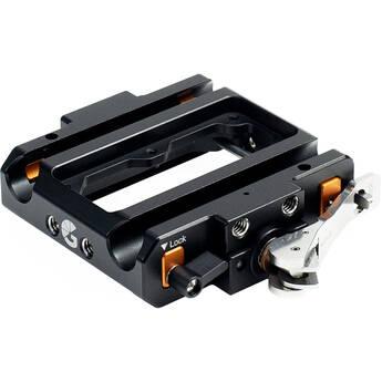 Bright Tangerine Left Field Universal 15mm LWS Baseplate Core Mk II