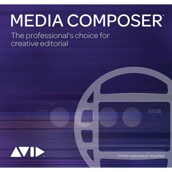Avid Media Composer (Perpetual, Academic, 1-Year Software Updates + Support Plan Renewal, Download)