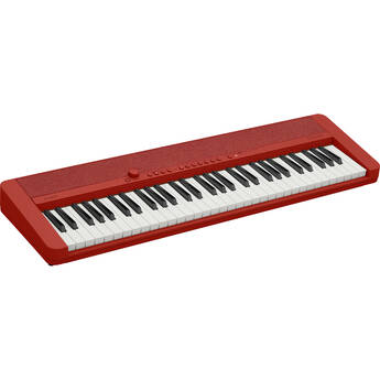 Casiotone CT-S1 Portable 61-Key Digital Piano (Red)