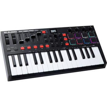 M-Audio Oxygen Pro Mini 32-Mini-Key USB MIDI Keyboard Controller