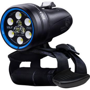 Light & Motion Sola Dive 2500 S/F Rehargeable Dive Light (USB Type-C PD Dongle)