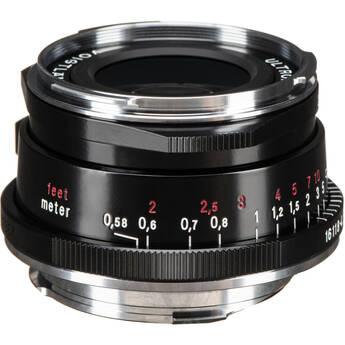 Voigtlander Ultron Vintage Line 35mm f/2 Aspherical Type II VM Lens (Black)