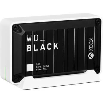 WD 2TB WD_BLACK D30 Game Drive USB 3.2 Gen 2 External SSD for Xbox