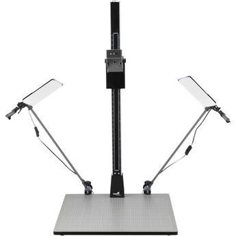 Impact Pro Copy Stand with Dual LED Panel Light Kit