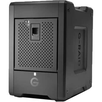 SanDisk Professional G-RAID Shuttle 4 24TB 4-Bay Thunderbolt 3 RAID Array (4 x 6TB)