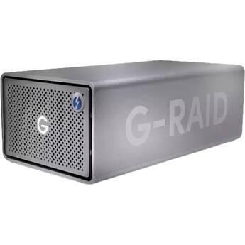 SanDisk Professional G-RAID 2 24TB 2-Bay RAID Array (2 x 12TB, Thunderbolt 3 / USB 3.2 Gen 1 )