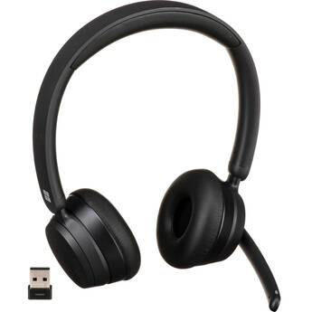 Microsoft Modern Wireless Bluetooth Headset for Business (Black, Bulk Packaging)