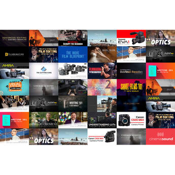 MZed Pro-12 Month Streaming Full Access to Online Filmmaking Courses