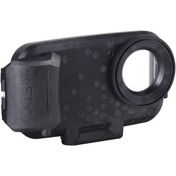AquaTech AxisGO 12 Pro Max Water Housing for iPhone (Deep Black)