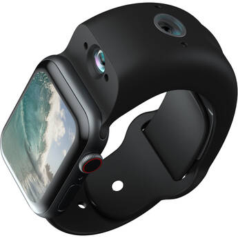 Wristcam Video Watch Band for Apple Watch (44mm, Black)