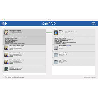 OWC Softraid XT DVD for OWC Multi-Bay Storage Solutions (Mac / Windows)