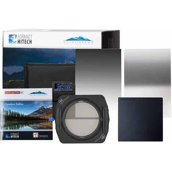 Formatt Hitech Firecrest Ultra Colby Brown Signature Edition 100mm Premier LaNDscape Kit + Firecrest 100mm MKII Hol