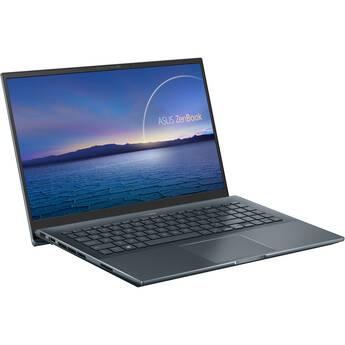 "ASUS 15.6"" ZenBook Pro 15 Laptop (Pine Gray)"