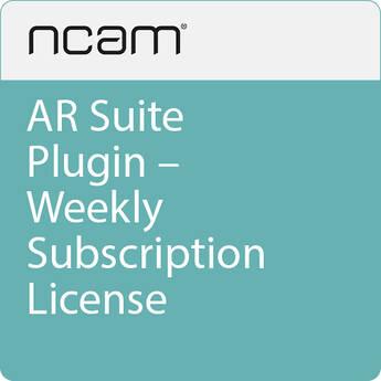 Ncam AR Suite Plugin - Weekly Subscription License