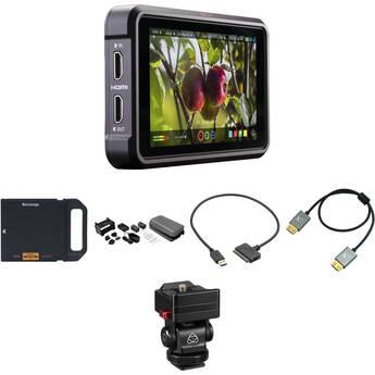 """Atomos Ninja V 5"""" 4K Recording Monitor with 1TB AtomX SSDmini & Mounting Kit"""