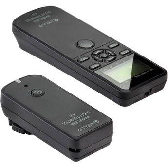 Vello Wireless ShutterBoss 4.0 Remote Timer and Trigger for Select Sony Multi-Terminal Cameras