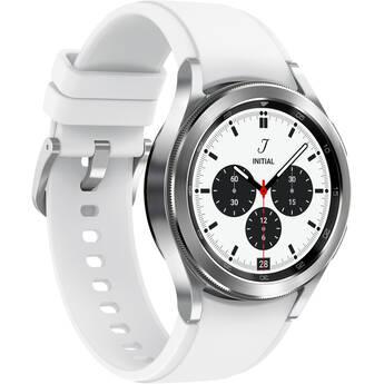 Samsung Galaxy Watch4 Classic Smartwatch (42mm, Bluetooth/Wi-Fi, Silver)