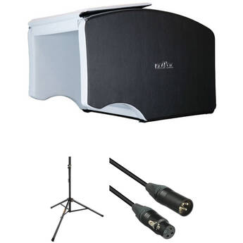 ISOVOX 2 Midnight Portable Vocal Booth Kit with Stand and XLR Cable