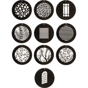 Westcott Environmental Gobo Pack for Optical Spot by Lindsay Adler (10-Pack)