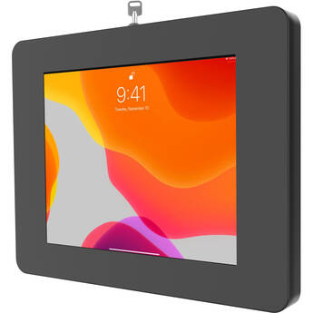 CTA Digital Locking Tablet Wall Mount for Select iPads, Galaxy Tablets, and More (Black)