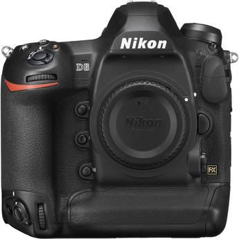 Nikon D6 DSLR Camera (Body Only, Refurbished by Nikon USA)