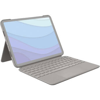 """Logitech Combo Touch Keyboard/Cover for 11""""Apple iPad Pro(2/3rd Gen),iPad Pro Tablet(Sand)"""