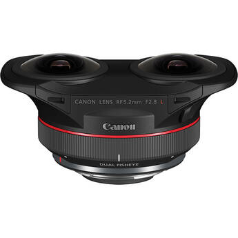 Canon RF 5.2mm f/2.8L Dual Fisheye 3D VR Lens