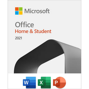 Microsoft Office Home & Student 2021 (1-User License, Product Key Code)