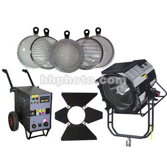 DeSisti Remington 6-12K HMI Par Kit, Lenses, Barndoors, Bulb  (185-265V)
