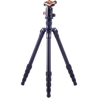 3 Legged Thing X1.1a Adrian 5-Section Aluminum Alloy Tripod with AirHed 1 Ball Head (Black)