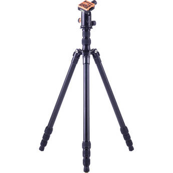 3 Legged Thing X4 Jack 4-Section Magnesium Alloy Tripod with AirHed 1 Ball Head (Black)