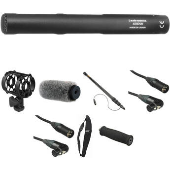Audio-Technica AT-875 - Shotgun Microphone Basic Kit