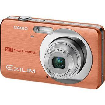 Casio Exilim EX-Z85 Digital Camera (Orange)