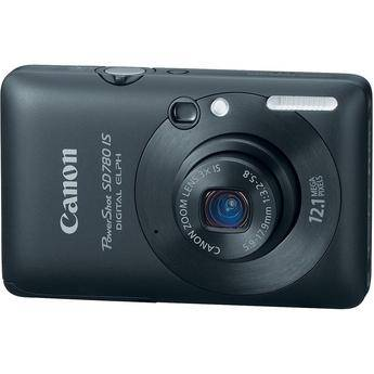 Canon PowerShot SD780 IS Digital Camera (Black)