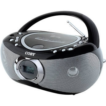 Coby MP-CD455 Portable MP3/CD Player with AM/FM Radio