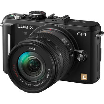 Panasonic Lumix DMC-GF1 Digital Camera with 14-45mm f/3.5-5.6 Lens