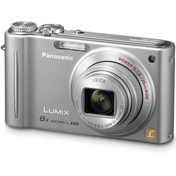 Panasonic LUMIX DMC-ZR3 Digital Camera (Silver)