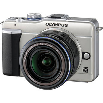 Olympus PEN E-PL1 Digital Camera (Champagne)