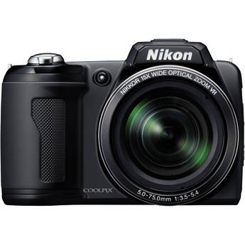 Nikon Coolpix L110 Digital Camera (Black)