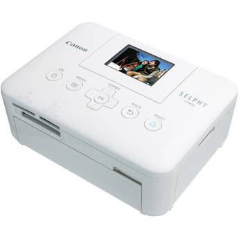 Canon SELPHY CP800 Compact Photo Printer (White)