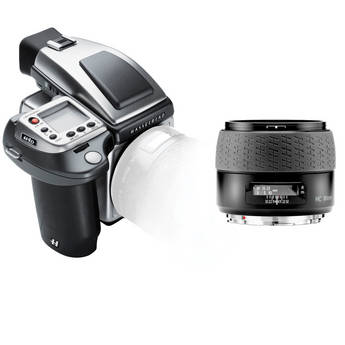 Hasselblad H4D-40 Stainless Steel Limited Edition Medium Format DSLR Camera with 80mm f/2.8 HC Lens