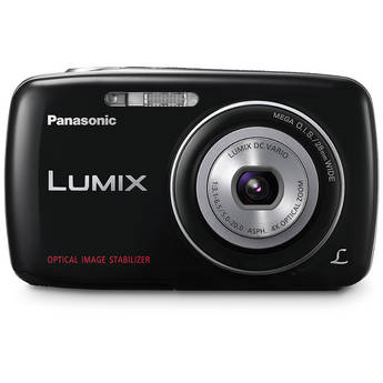 Panasonic Lumix DMC-S3 Digital Camera (Black)