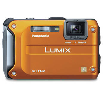 Panasonic Lumix DMC-TS3 Digital Camera (Orange)