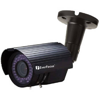 EverFocus EZ730B Outdoor True Day/Night IR Bullet Camera (Black)